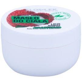 FlosLek Laboratorium Natural Body Lychee & Watermelon výživné tělové máslo s hydratačním účinkem  240 ml