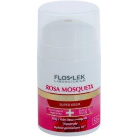 FlosLek Laboratorium Rosa Mosqueta Rejuvenation 50+ crema hidratante intensiva con efecto antiarrugas  50 ml