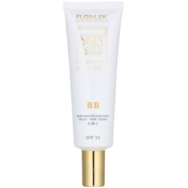 FlosLek Laboratorium Skin Care Expert All-Day crema BB 5 en1 SPF 15  50 ml