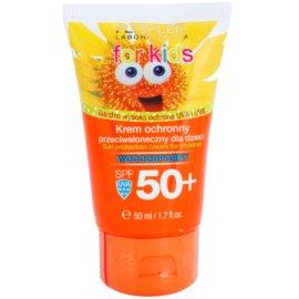 FlosLek Laboratorium Sun Care Protective Cream for Kids SPF 50+  50 ml