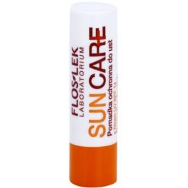 FlosLek Laboratorium Sun Care захисний бальзам для губ SPF 14