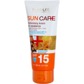 FlosLek Laboratorium Sun Care крем для засмаги SPF 15  100 мл