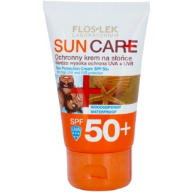 FlosLek Laboratorium Sun Care Schutzcreme SPF 50+  50 ml