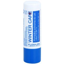 FlosLek Laboratorium Winter Care schützendes Lippenbalsam SPF 14
