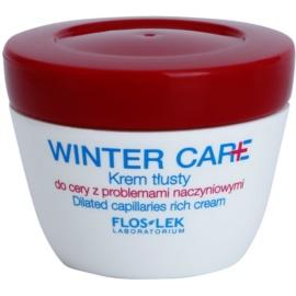 FlosLek Laboratorium Winter Care gazdag védőkrém Érzékeny, bőrpírra hajlamos bőrre  50 ml