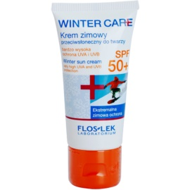 FlosLek Laboratorium Winter Care téli védő krém SPF 50+  30 ml