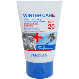 FlosLek Laboratorium Winter Care schützende Creme fúr den Winter SPF 20  50 ml