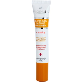 FlosLek Pharma Eye Care gel yeux à l'arnica anti-poches et anti-cernes  15 ml