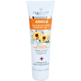 FlosLek Pharma Arnica crema hidratante SPF 15  50 ml
