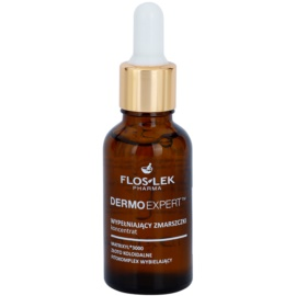 FlosLek Pharma DermoExpert Intensiv-Serum mit Antifalten-Effekt (Matrixyl 3000, Colloidal Gold, Whitening Phyto-Complex) 30 ml