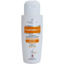 FlosLek Pharma ElestaBion T champú dermatológico contra la caspa grasa  150 ml