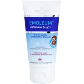FlosLek Pharma Emoleum Feuchtigkeitscreme Für Gesicht und Körper  75 ml