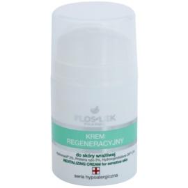 FlosLek Pharma Hypoallergic Line regenerierende Creme für empfindliche Haut  50 ml