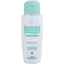 FlosLek Pharma Hypoallergic Line odličovací mléko na obličej a oči  150 ml