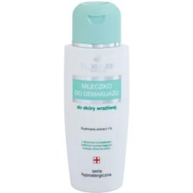FlosLek Pharma Hypoallergic Line Abschminkmilch für Gesicht und Augen  150 ml