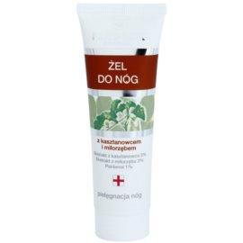 FlosLek Pharma Leg Care Horse Chestnut & Ginkgo Biloba hűsítő gél a fáradt lábra  50 ml