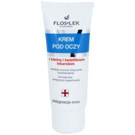 FlosLek Pharma Eye Care крем для шкіри навколо очей з лютеїном та очанкою лікарською  30 мл