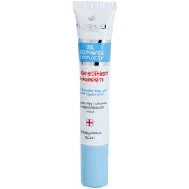 FlosLek Pharma Eye Care gel na oční okolí se světlíkem lékařským  15 ml