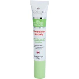 FlosLek Pharma Eye Care gel na oční okolí se světlíkem a zeleným čajem  15 ml