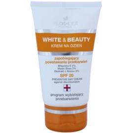 FlosLek Pharma White & Beauty krem ochronny na dzień SPF 20  50 ml