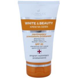 FlosLek Pharma White & Beauty ochranný denný krém SPF 20  50 ml