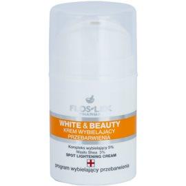 FlosLek Pharma White & Beauty bleichende Creme für die lokale Behandlung  50 ml
