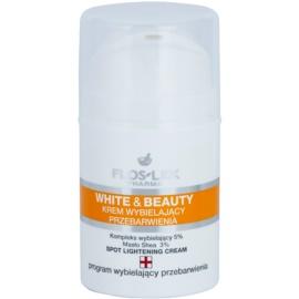 FlosLek Pharma White & Beauty crema blanqueadora  para el tratamiento local  50 ml