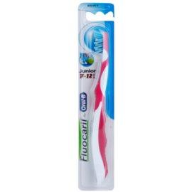 Fluocaril Junior 7-12 zubná kefka pre deti soft Pink