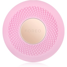 FOREO UFO™ Mini sonický přístroj pro urychlení účinků pleťové masky cestovní balení Pearl Pink
