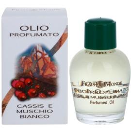 Frais Monde Cassis And White Musk parfémovaný olej pro ženy 12 ml
