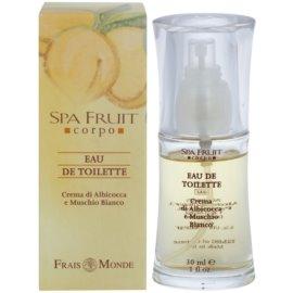 Frais Monde Spa Fruit Apricot And White Musk toaletní voda pro ženy 30 ml