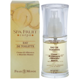 Frais Monde Spa Fruit Apricot And White Musk Eau de Toilette para mulheres 30 ml