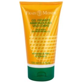 Frais Monde Sun osvěžující hydratační gel na obličej a tělo pro prodloužení opálení  150 ml