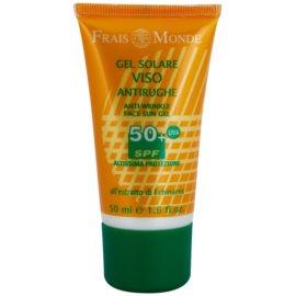 Frais Monde Sun gel de proteção com efeito antirrugas SPF 50+   50 ml