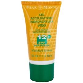 Frais Monde Sun gel pro podporu opálení SPF 12  50 ml