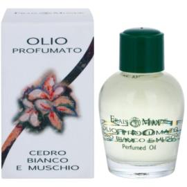 Frais Monde White Cedar And Musk parfémovaný olej pro ženy 12 ml