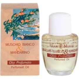 Frais Monde White Musk and Mandarin parfümiertes Öl für Damen 12 ml
