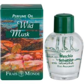 Frais Monde Wild Musk óleo perfumado para mulheres 12 ml