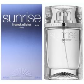 Franck Olivier Sunrise eau de toilette férfiaknak 75 ml