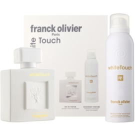 Franck Olivier White Touch Geschenkset I. Eau de Parfum 100 ml + Deo-Spray 200 ml