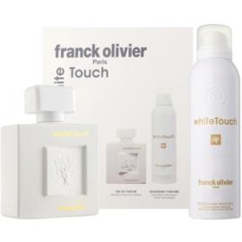 Franck Olivier White Touch set cadou I.  Eau de Parfum 100 ml + Deo-Spray 200 ml