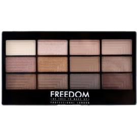Freedom Pro 12 Audacious 3 paleta očných tieňov s aplikátorom  12 g