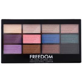 Freedom Pro 12 Dreamcatcher paleta farduri de ochi cu aplicator  12 g