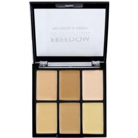 Freedom Pro Conceal paleta korektorů odstín Light-Medium 6 g