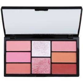 Freedom Pro Blush Pink and Baked paleta na kontury obličeje  15 g