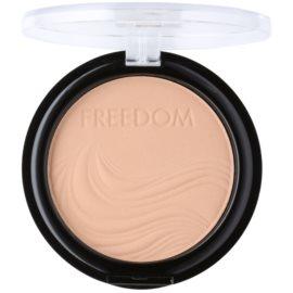 Freedom Pressed Powder pudra compacta culoare 105 Warm 4 g
