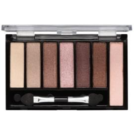 Freedom Pro Shade & Brighten Shimmers paleta očních stínů s rozjasňovačem  5,6 g