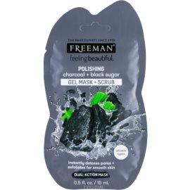 Freeman Feeling Beautiful очищуюча маска - пілінг для всіх типів шкіри  15 мл