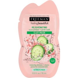 Freeman Feeling Beautiful Clay Facial Mask With Rejuvenating Effect  15 ml