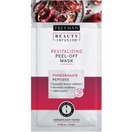 Freeman Beauty Infusion Pomegranate + Peptides Revitalizing Facial Peel - Off Mask  15 ml